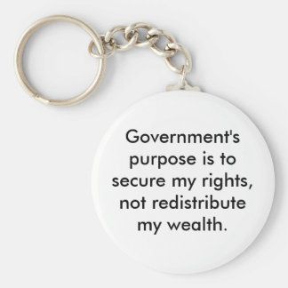 Purpose of Government keychain