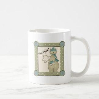 Purr-fect Christmas Cat Coffee Mug