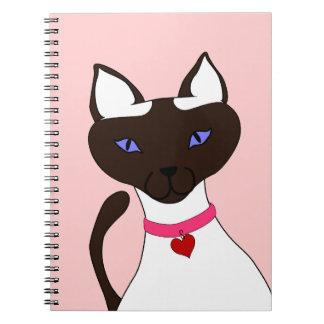 Purr-fect Moira Pink Notebook