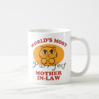 Purr-fect Mother-In-Law Coffee Mug