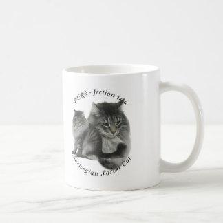 PURR-fection Norwegian Forest Cat Mugs