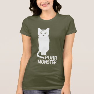 Purr Monster T-Shirt in Dark Colors
