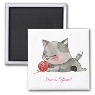 Purr Often Cat Magnet