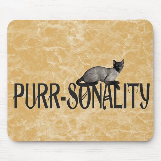 Purr-sonality Mouse Pads