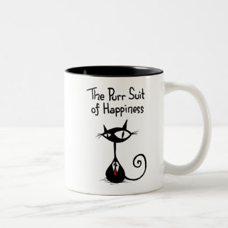 Purr Suit of Happiness Mug