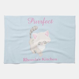 Purrfect Cat Kitchen Towels