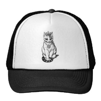 Purrfect Cat With Crown N Jewels Cap