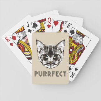 Purrfect deck of cards