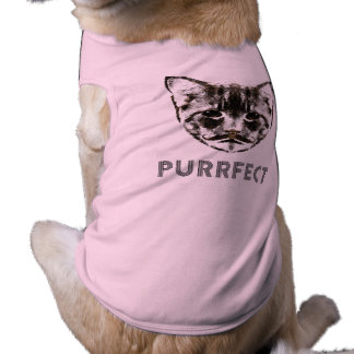 Purrfect dog shirt
