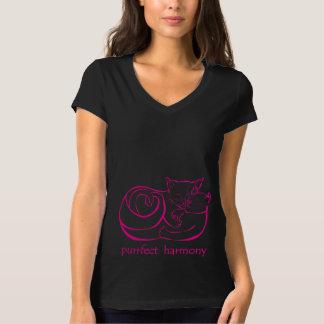 Purrfect Harmony T-shirt 4 Cat Lovers, CraftiesPot
