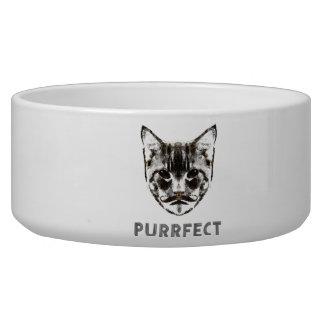 Purrfect milk bowl