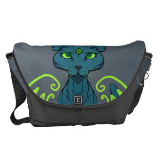 Purrfect Sight Courier Bag