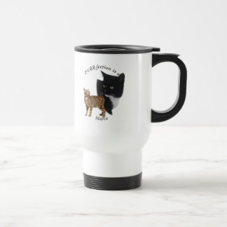 PURRfection Manx Travel Mug