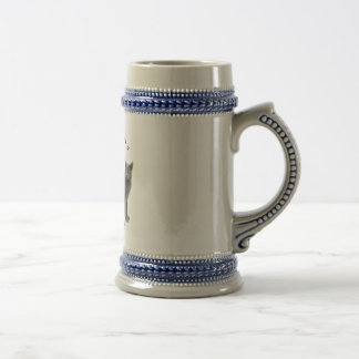 PURRfection Russian Blue Beer Stein