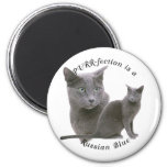 PURRfection Russian Blue Fridge Magnets