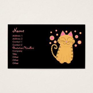 Purrfectly Sane Cat Lady Business Card