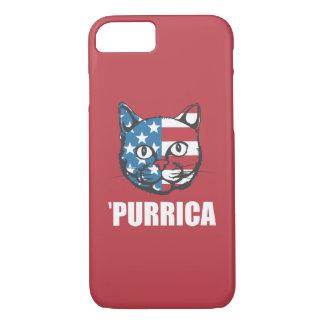 Purrica Murica Merica Patriotic Cat iPhone 7 Case