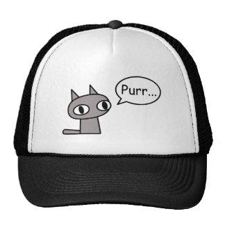 Purring Cat Cap