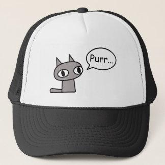 Purring Cat Trucker Hat