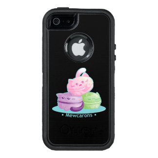 Purrista Pawfee: Cute Kitty Macarons OtterBox iPhone 5/5s/SE Case