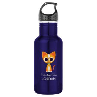 Purrl the Cat 532 Ml Water Bottle