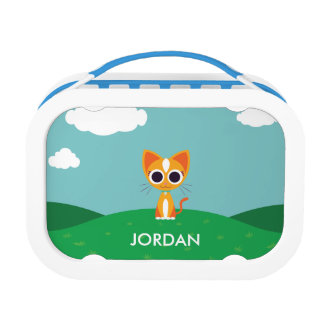 Purrl the Cat Lunch Box