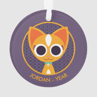 Purrl the Cat Ornament