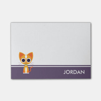 Purrl the Cat Post-it Notes