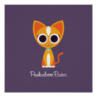Purrl the Cat Poster
