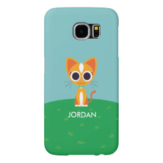 Purrl the Cat Samsung Galaxy S6 Cases