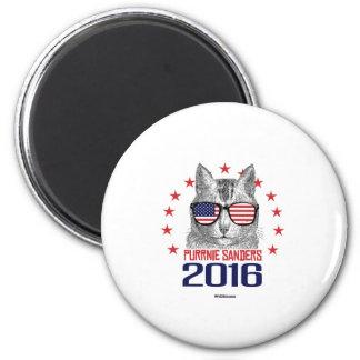 Purrnie Sanders 2016 6 Cm Round Magnet