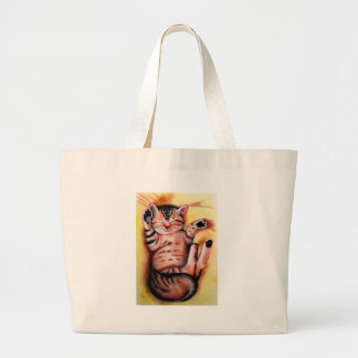 PURRRFECT NAP TOTE BAGS