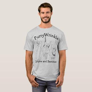 PurryWrinkle Sphynx and Bambino kitties T-Shirt