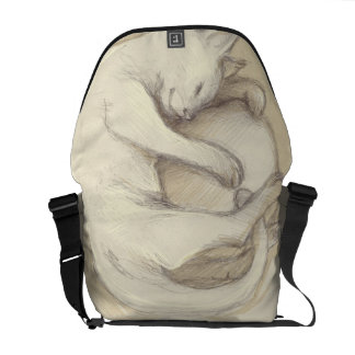 Purse cat sleeping courier bags