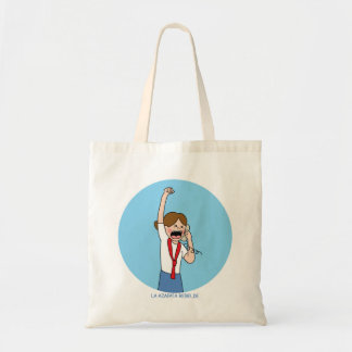 Purse for the rebellious stewardess tote bag