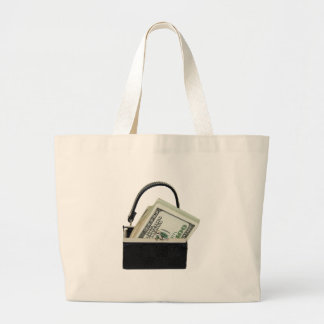 PurseMoney053009 Large Tote Bag