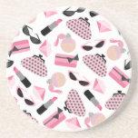 Purses Perfume & Lipstick Coaster