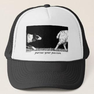 Pursue your passion Border Collie Trucker Hat