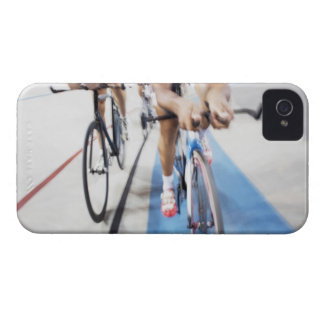 Pursuit cycling team in action iPhone 4 Case-Mate cases