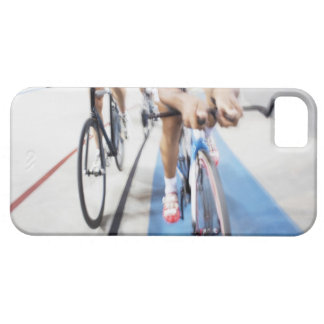 Pursuit cycling team in action iPhone 5 cases