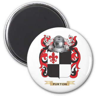 Purton Coat of Arms (Family Crest) Fridge Magnets