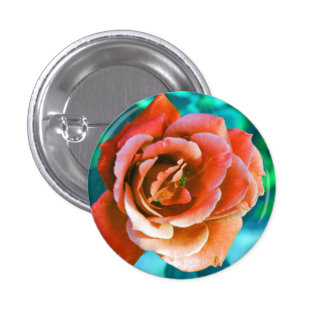 Purty 'lil' Rose Button