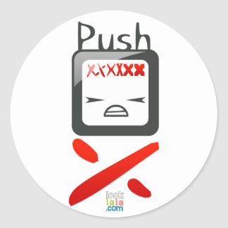 Push A'dam sticker