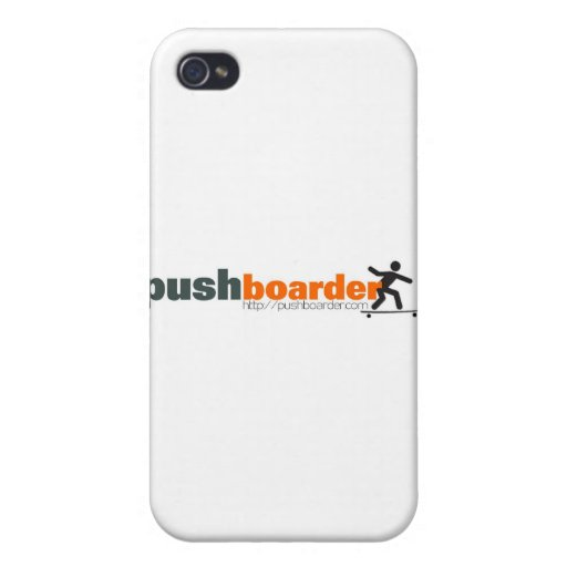 Push Boarder Official Logo Designs iPhone 4/4S Case