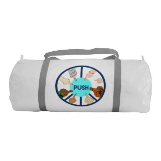 PUSH Duffel Bag Gym Duffel Bag