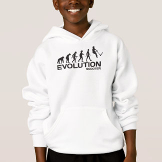 Push kick stunt SCOOTER ape EVOLUTION hoody hoodie