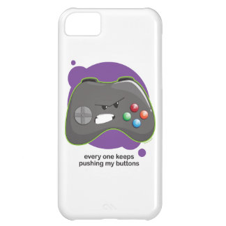 Push My Buttons iPhone 5C Cover