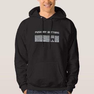 Push My Buttons Computer Keyboard Hoody