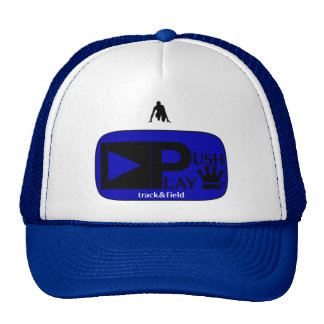 Push Play Athletic Wear Track&Field Hats