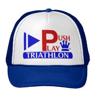 Push Play Athletic Wear Triathlon Cap